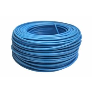 CABLE ELEC 4MM HILO FLEXIBLE NIVEL AZ 750V CF1040 100 MT