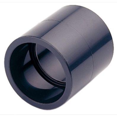 MANGUITO PVC PRESION 16BAR ENCOLAR H-H Ø 20
