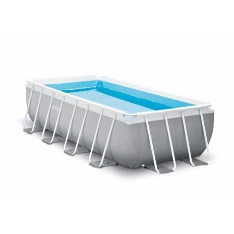 PISCINA PVC RECTANGULAR SUELO 488X244X107CM CART 10874LT PRISM INTEX